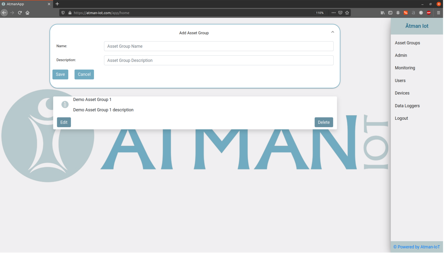 "alt ""Atman IoT – New Asset Group"